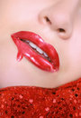 Dripping gloss Stock Photo