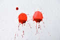 Dripping red Ink Royalty Free Stock Photo