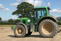 Drive four tractor wheel Royaltyfria Bilder