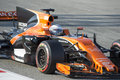 Driver Fernando Alonso. Team McLaren Royalty Free Stock Photo