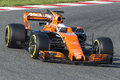 Driver Fernando Alonso.  Team McLaren Royalty Free Stock Photo