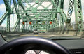 Driver perspective seat Στοκ Φωτογραφία