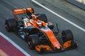 Driver Stoffel Vandoorne.  Team McLaren Royalty Free Stock Photo