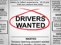 Drivers Wanted Newspaper
