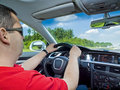 Driving experience... Royalty Free Stock Photo