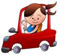 Driving kid