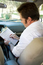 Driving Test Checklist Royalty Free Stock Photo