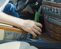Driving Under the Influence. Royalty Free Stock Photo