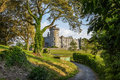 Dromoland castle county clare ireland famous Stock Photography