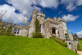 Dromoland Castle in sunny day Stock Images