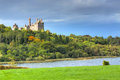 Dromore castle in co limerick ireland Royalty Free Stock Images