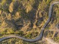 Drone Bird`s Eye Aerial View O...