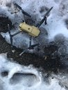 A drone on ice