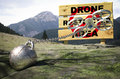 Drone restricted area Royalty Free Stock Photo