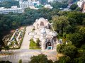 Aerial View of city Bangalore in India Royalty Free Stock Photo