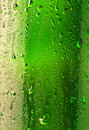 Droplets on the bottle of beer Royalty Free Stock Photo