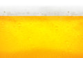 Droplets on freshly poured beer Royalty Free Stock Photo