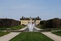 Drottningholm Palace Garden near Stockholm, Sweden Royalty Free Stock Photo