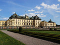 Drottningholm Palace in Stockholm, Sweden Royalty Free Stock Photo
