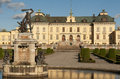 Drottningholm slott (royal palace) outside of Sto Royalty Free Stock Photography