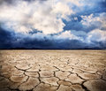 Drought earth Stock Photo