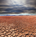 Drought land in uyuni bolivia Royalty Free Stock Photography