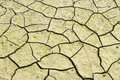 Drought land was cracked. Stock Photography