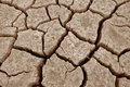 Drought Landscape Royalty Free Stock Photography