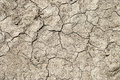 Drought very dry cracked soil as a concept for droughts Royalty Free Stock Photo