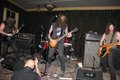 Drout a heavy metal band performance in the lola room of the crystal ballrooms building Stock Photos