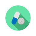 Drug  icon Royalty Free Stock Photo