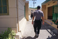 Drug raid police conducted a at a motel in karanganyar central java indonesia to suppress crime Royalty Free Stock Photos