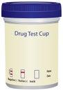 Drug Test Cup