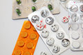 Drugs medication bar and pharmaceuticals Royalty Free Stock Photo