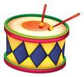 A drum
