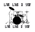 Drum icon Stock Images