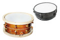 Drum isolated under the white background Royalty Free Stock Images
