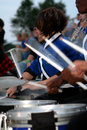 Drum Line Royalty Free Stock Photo