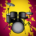 Drum set. Royalty Free Stock Image