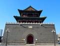 Drum tower,Tianjin Stock Image
