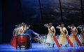 The drummer the fourth act of dance drama shawan events of the past guangdong town is hometown ballet music focuses on historical Stock Images
