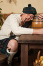 Drunken Scotsman Stock Photos