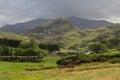 Drws y Coed Glacial Valley in Snowdonia. Royalty Free Stock Photo
