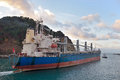 Dry bulk ship Royalty Free Stock Photo