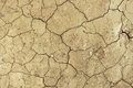 Dry cracked dirt desert background texture pattern of dried soil in the Stock Images
