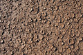 Dry cracked dirt surface Stock Photography