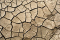 Dry cracked earth background, clay desert texture. Royalty Free Stock Photo