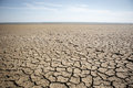 Dry cracked earth landscape Royalty Free Stock Images