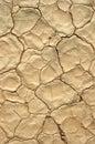 Dry cracked ground, depletion Royalty Free Stock Photo