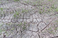 Dry cracked ground warming dryness infertile Royalty Free Stock Photos